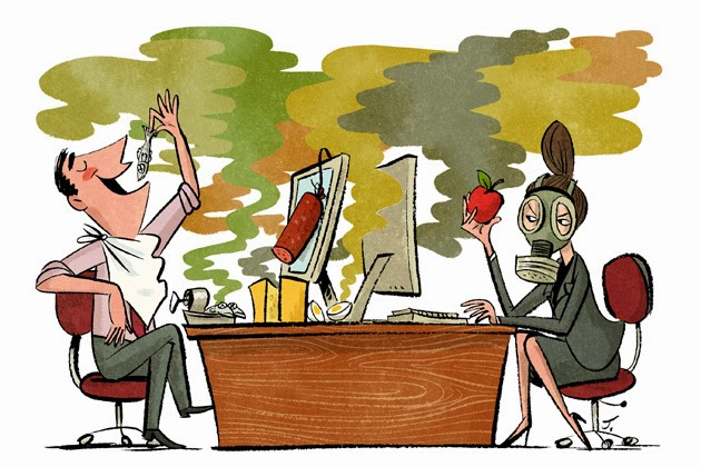 Office Aromas Cause A Stink Success With Etiquette